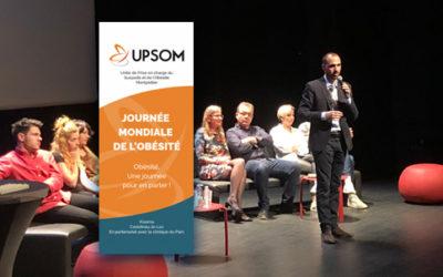 1ère journée UPSOM – Journée mondiale de l'Obésité (photos+vidéo)