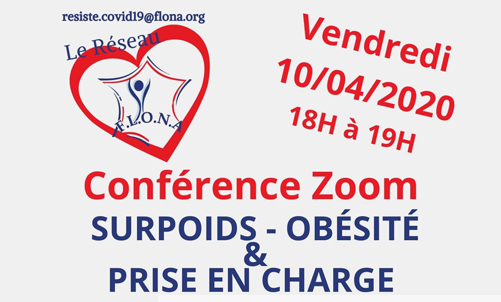 Conférence Zoom : Surpoids – Obésité & Prise en charge